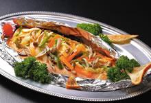銀鮭のちゃんちゃん焼き