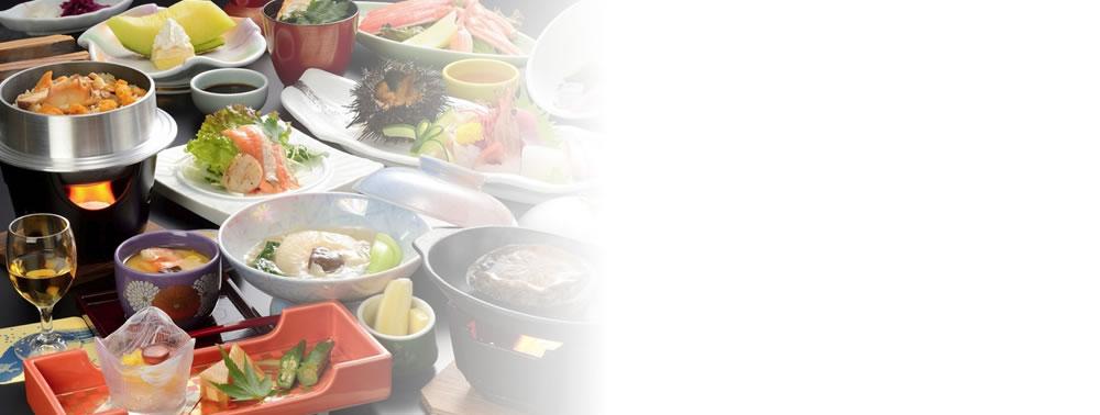 魚介中心のお料理